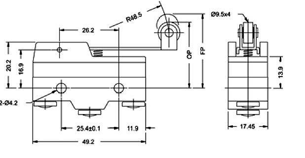 Wyłączniki krańcowe Z15G1703